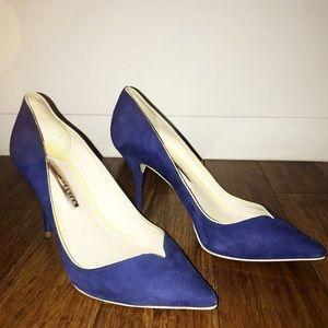 Sophia Webster Izzy Blue Suede Pumps🆕🆕🆕🆕